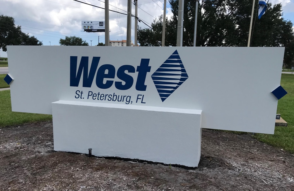 West Pharmaceutical signage project